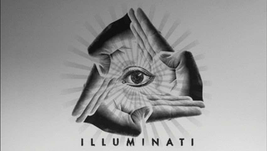 Illuminati all seeing eye