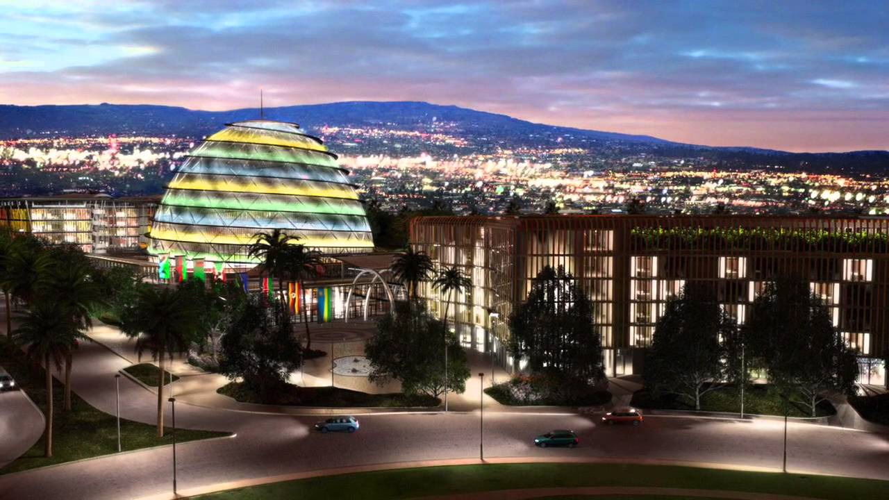 kigali african cities at night