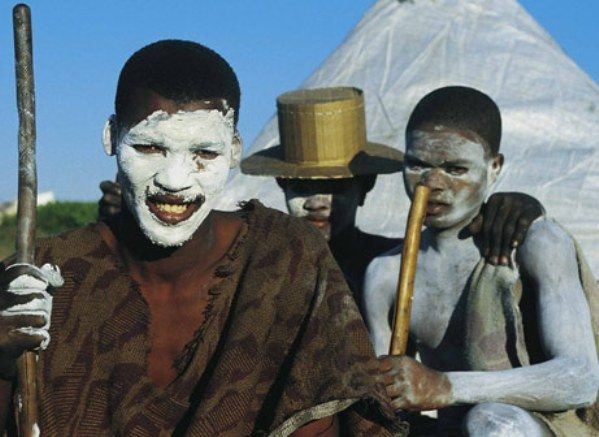Xhosa Boys - South African tribes