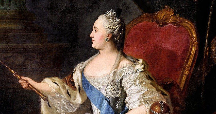 catherine_the_great - Famous Women Leaders