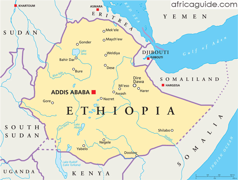 Ancient Ethiopia, Map, Religion, History, Unforgettable Events