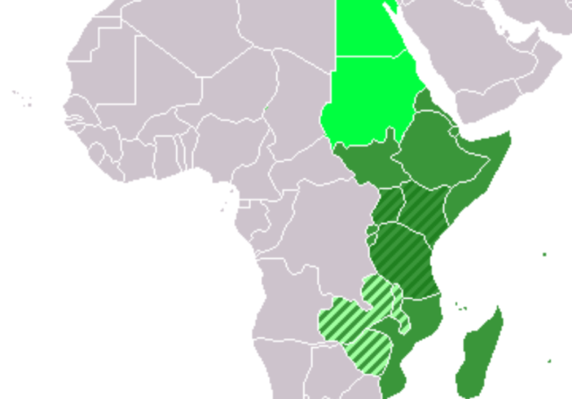 East African Countries List of Countries in East Africa