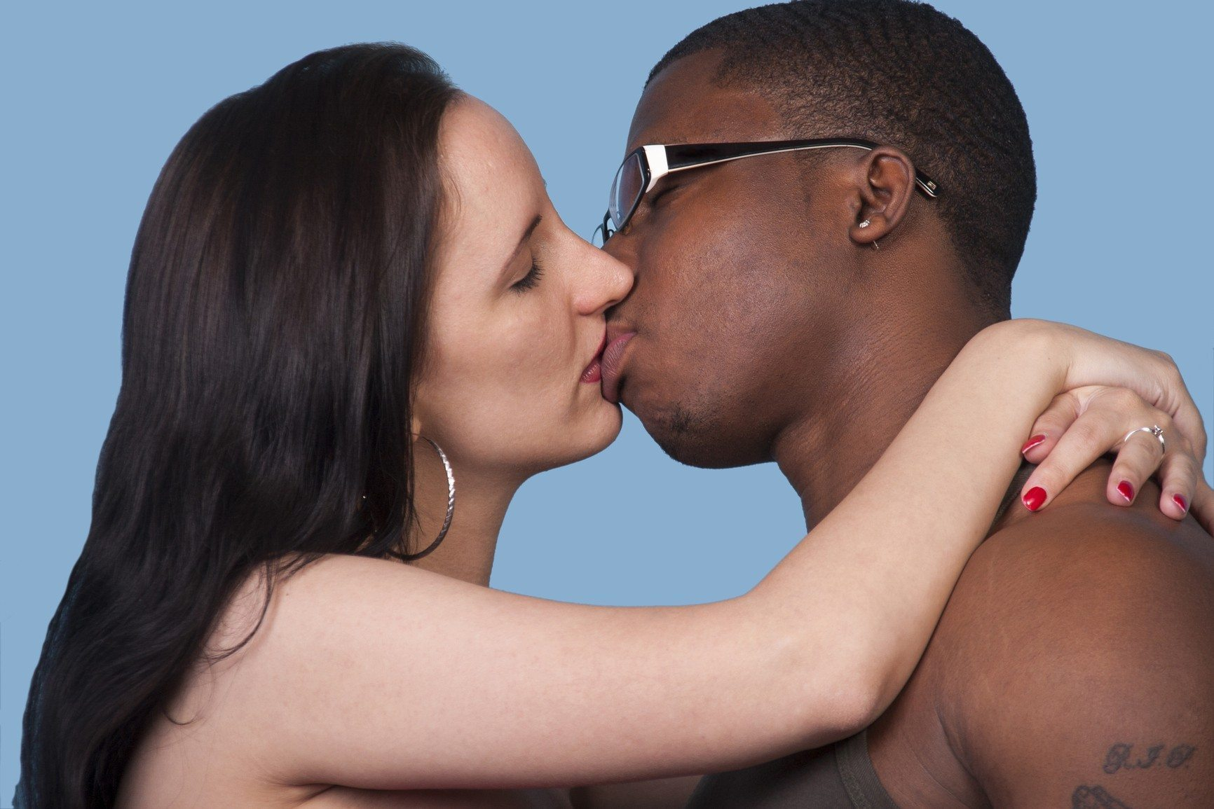 young white girl and black guy sex