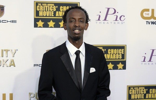 Barkhad Abdi arrives at the 19th annual Critics' Choice Movie Awards in Santa Monica