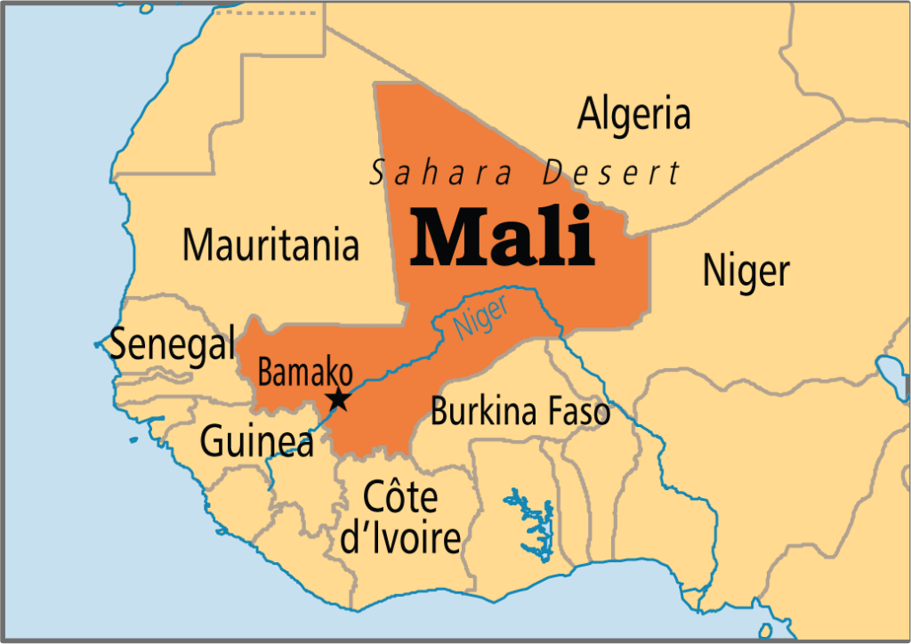 Most Beautiful Maps Of African Countries - Map of africa countries