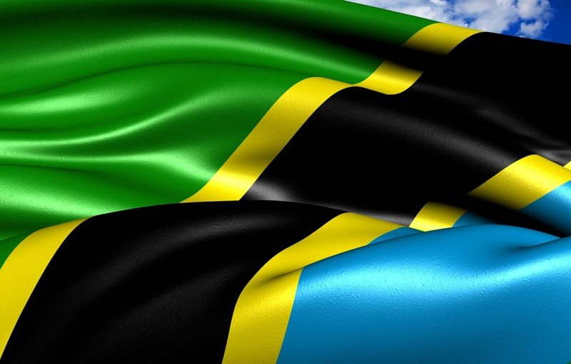 THE FLAG OF TANZANIA