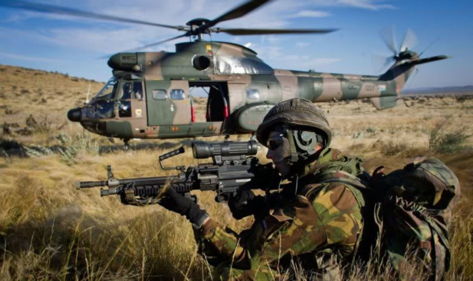 10 African Countries With the Highest Military Strength and Fire Power