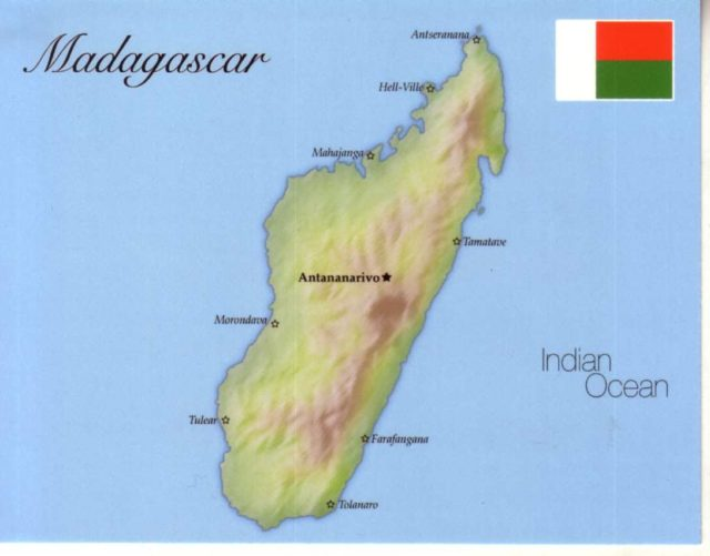 Madagascar Flag People Population Capital Language Religion Facts