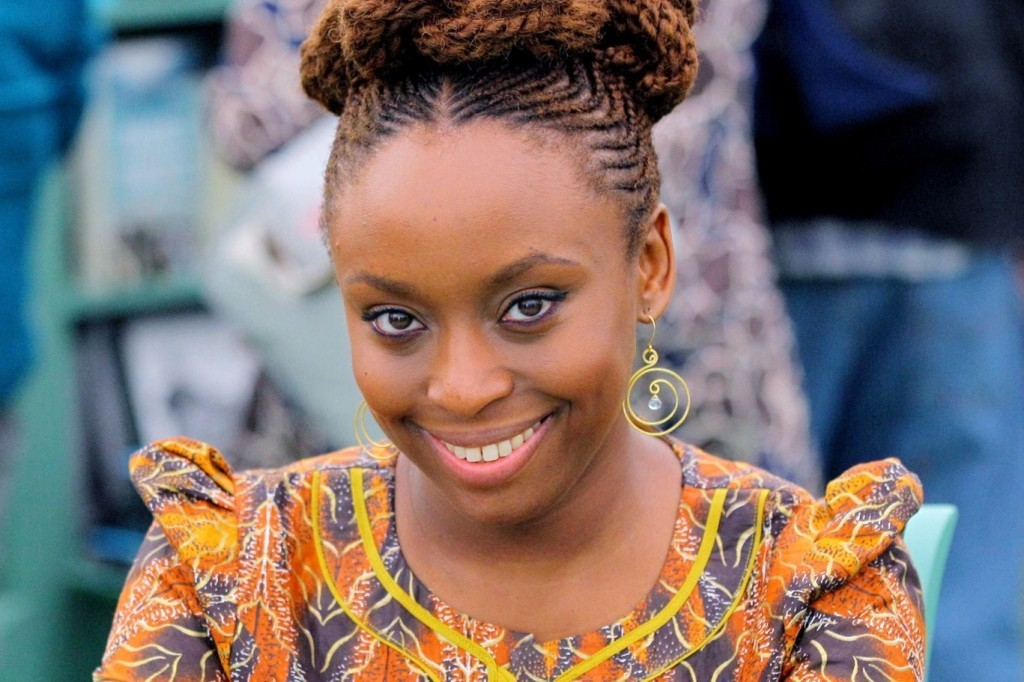 Mandatory Credit: Photo by REX (1734036r) Chimamanda Ngozi Adichie The Telegraph Hay Festival, Hay on Wye, Powys, Wales, Britain - 09 Jun 2012