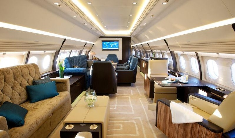 Top 10 Most Expensive Private Jets in The World Now