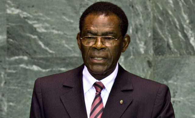 Image result for teodoro nguema