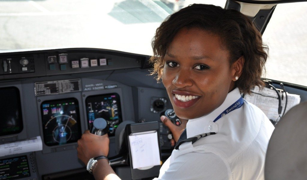 African Female Pilots
