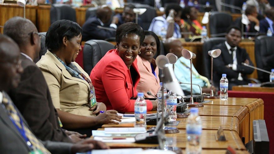 Rwanda parliament highest african gender equality ranking