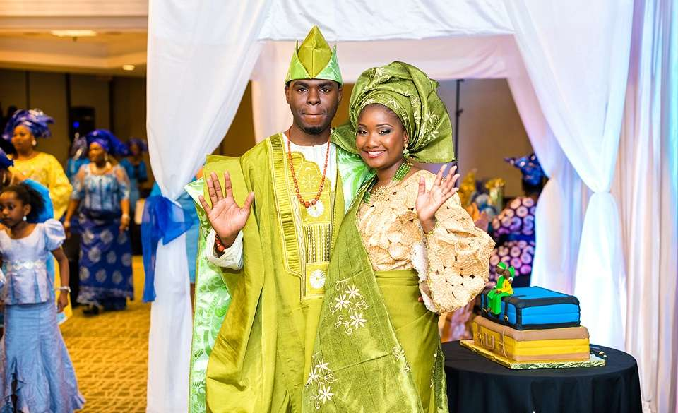 Yoruba couple - Traditional Wedding Facts