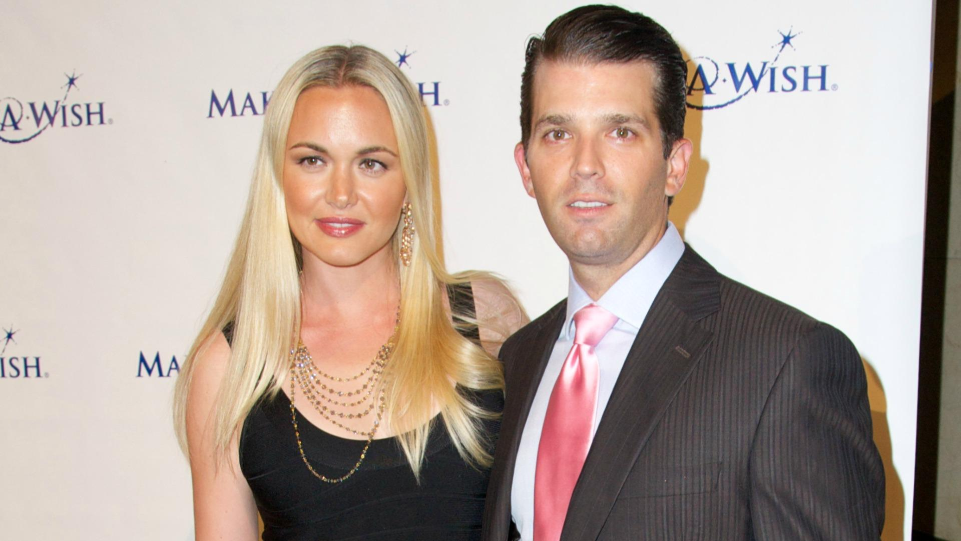 Donald Trump jr. and his wife, Vanessa.
