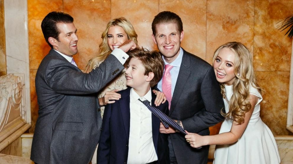 The Trump Children: Meet President Donald Trump's Kids
