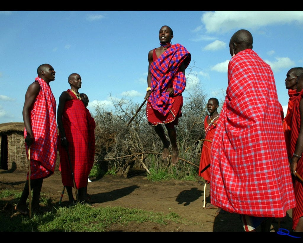 Maasai Shuka Cloth