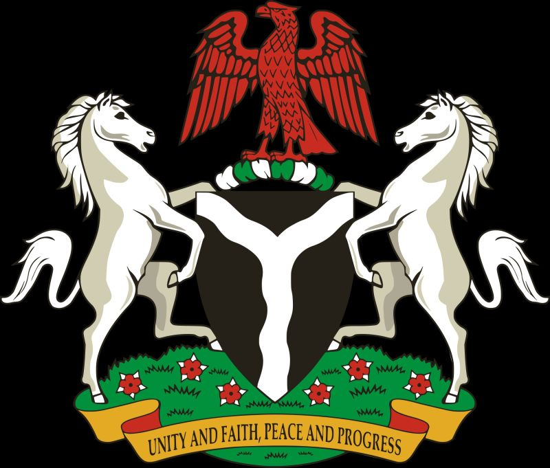 Nigeria Coat Of Arm Meaning What The 2 Horses Represent Designer
