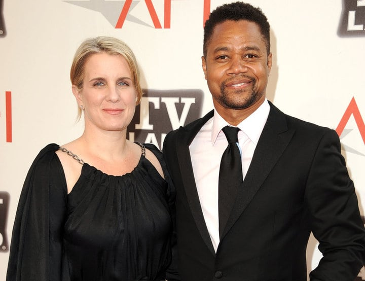 Cuba Gooding Jr and wife