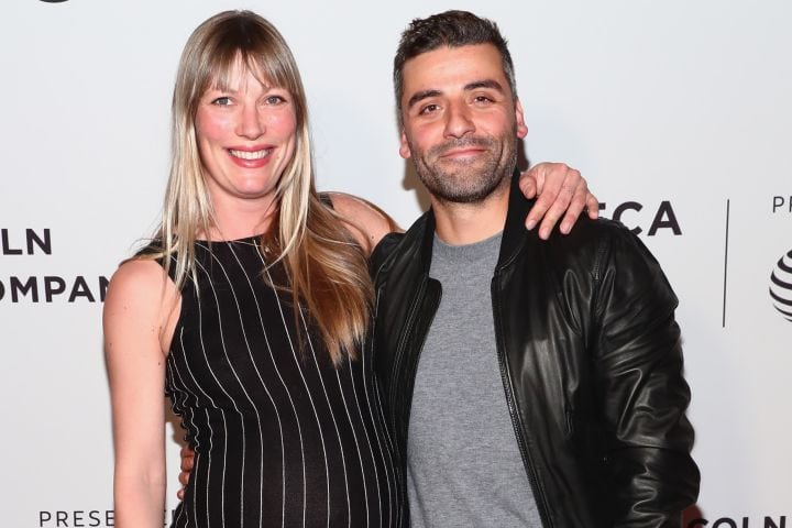 Oscar Isaac and wife Elvira Lind