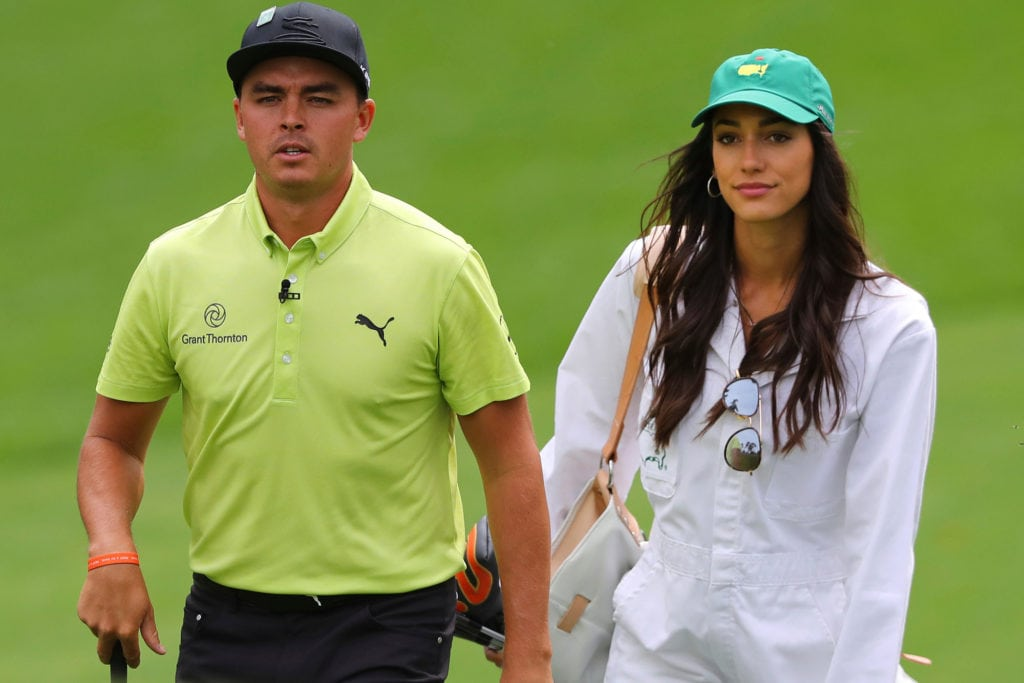 rickie fowler wife  girlfriend  parents  sister  weight