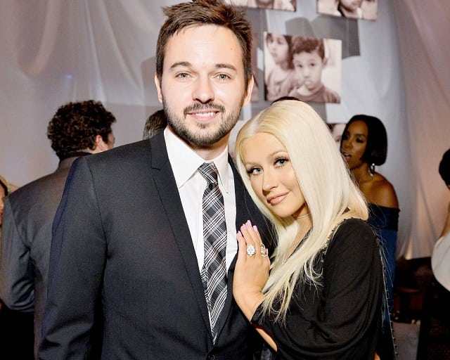 from Garrett how long has christina aguilera been dating matt rutler