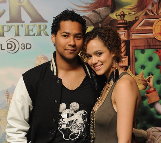 Nathalie Emmanuel and Devon Anderson
