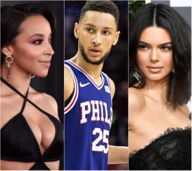 Tinashe Kachingwe , Ben Simmons and Kendall Jenner