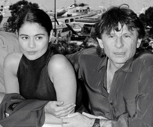 Charlotte Lewis and Roman Polanski