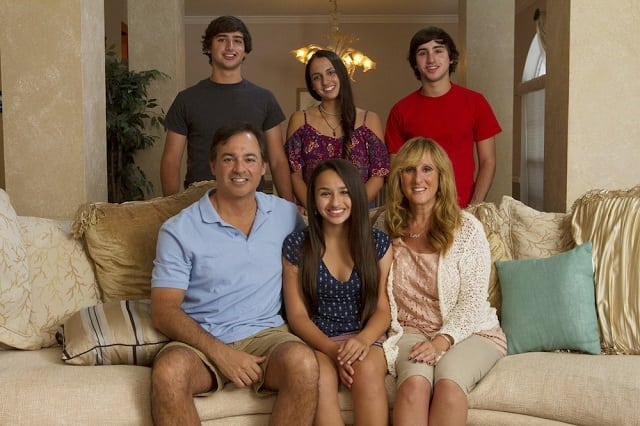 Jazz Jennings and family