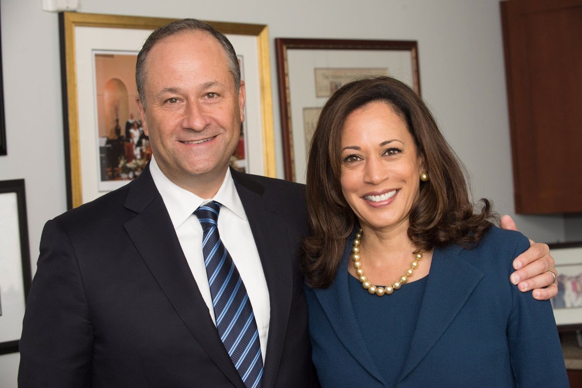 Kamala Harris and husband
