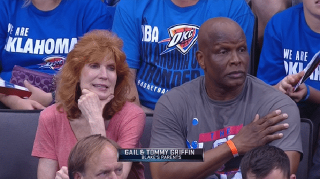Blake Griffin's parents