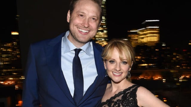 Winston Beigel and Melissa Rauch