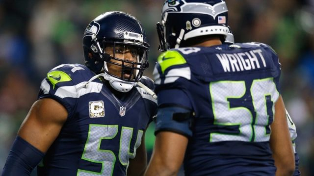 Bobby Wagner and KJ Wright