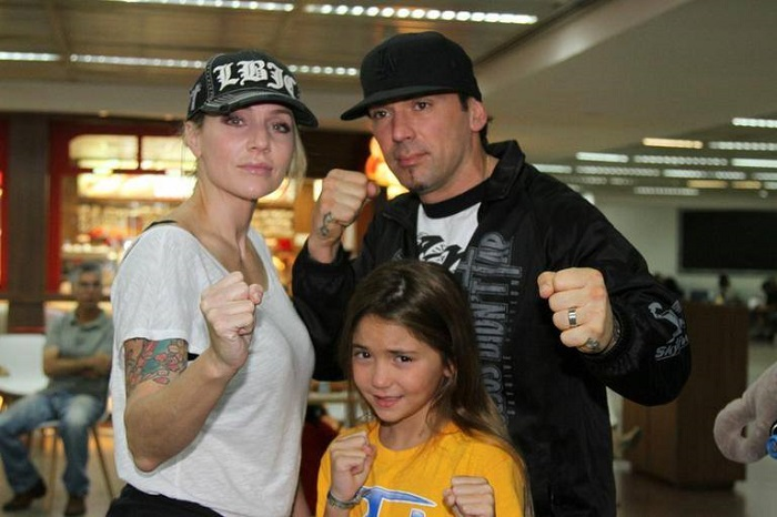 Jason David Frank, Tammie and Jenna