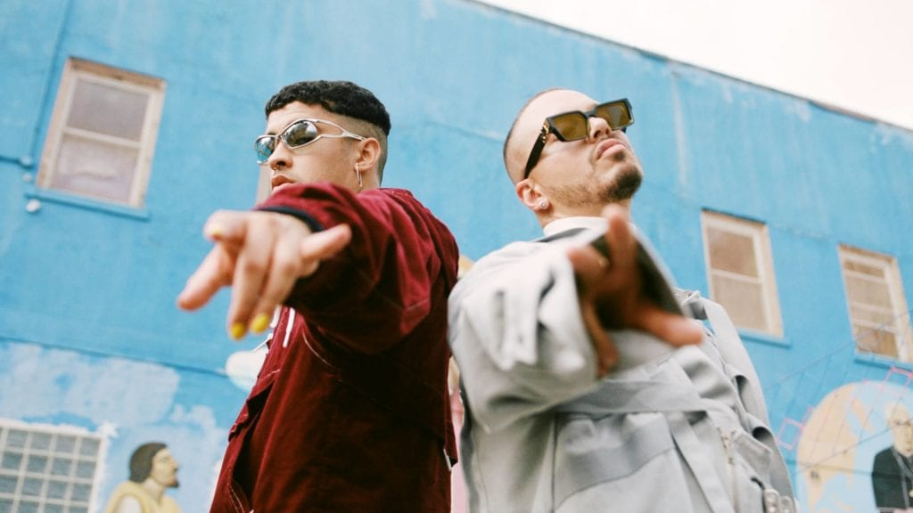 Bad Bunny and J Balvin