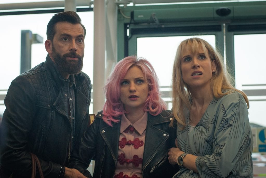 Faye Marsay, David Tennant and Lucy Punch in You Me and Him