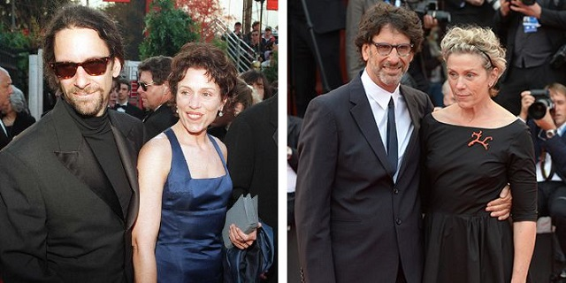 Frances McDormand and husband Joel Coen