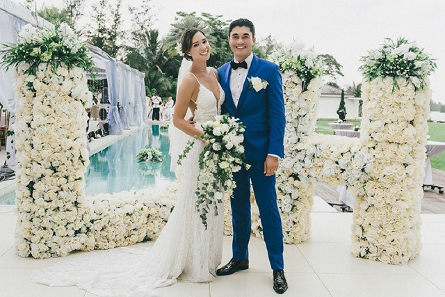 Liv Lo and husband Henry Golding