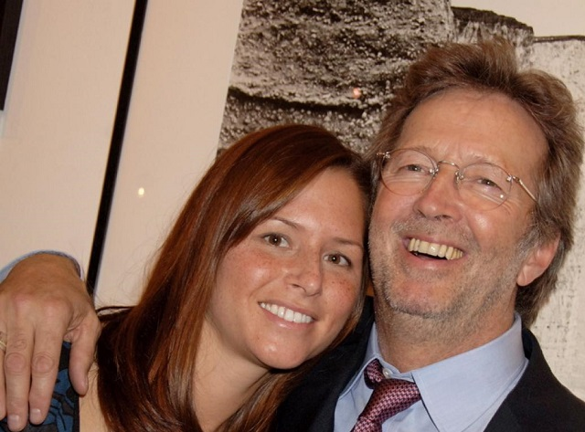 Melia McEnery and husband Eric Clapton