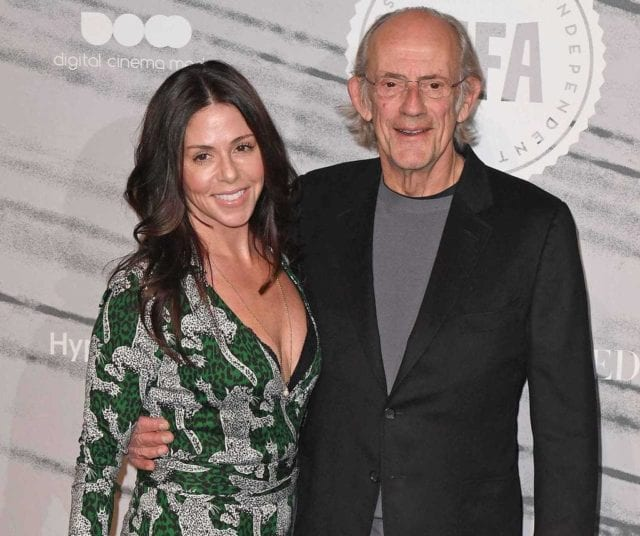 Christopher Lloyd and ex-wife Jane Walker Wood