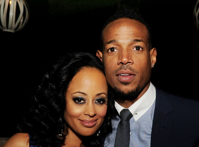 Angelica Zachary and Marlon Wayans