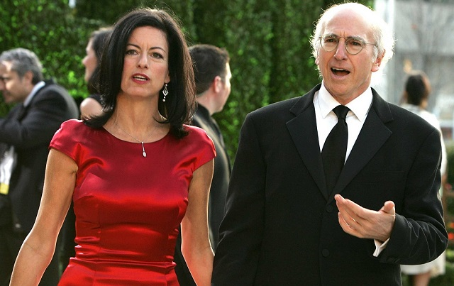 Larry David and ex-wife Laurie David