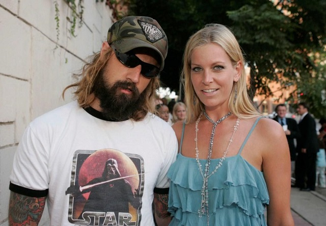 Sheri Moon Zombie and husband Rob Zombie