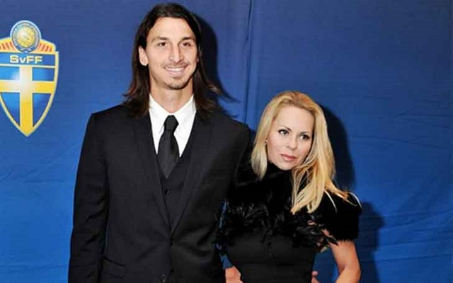 Helena Seger and Zlatan Ibrahimovic