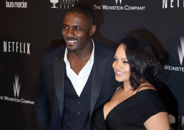 Idris Elba and Naiyana Garth