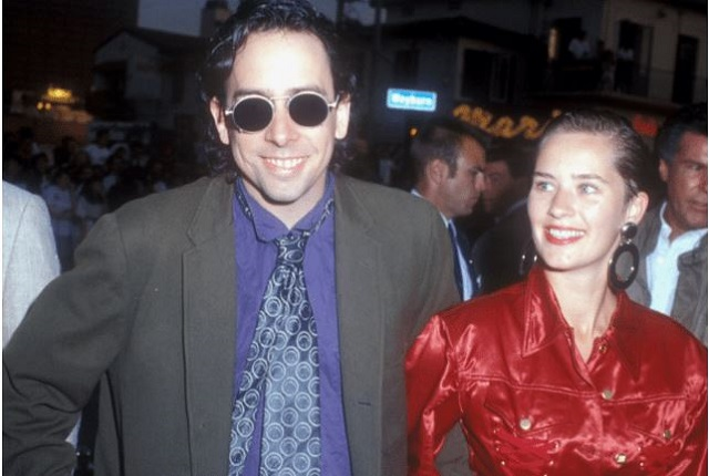 Tim Burton and Lena Gieseke