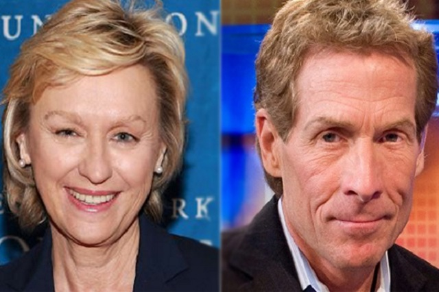 Ernestine Sclafani and Skip Bayless