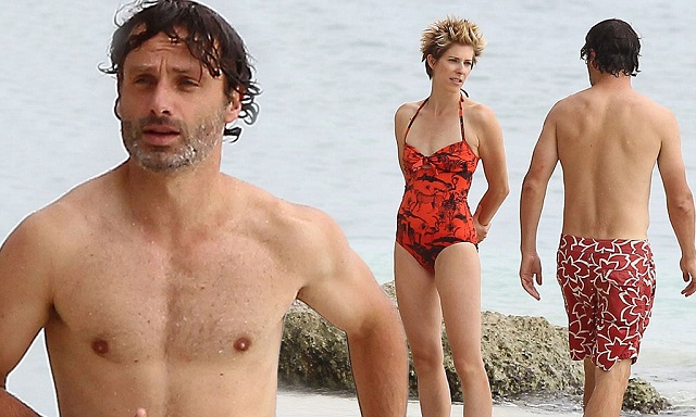 Gael Anderson and Andrew Lincoln