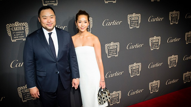 Grace Seo Chang and David Chang